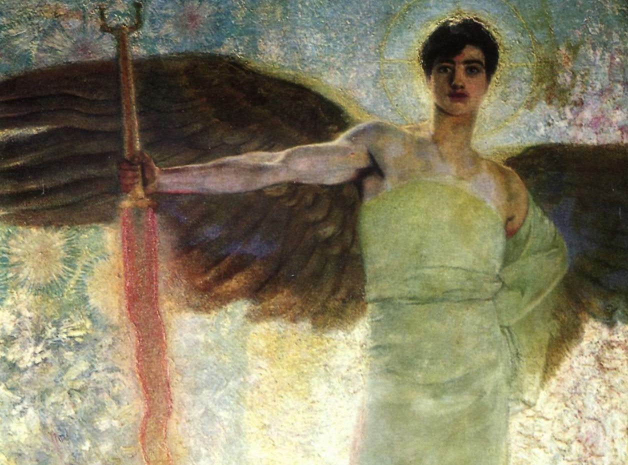 Joseph's Flaming Sword Angel